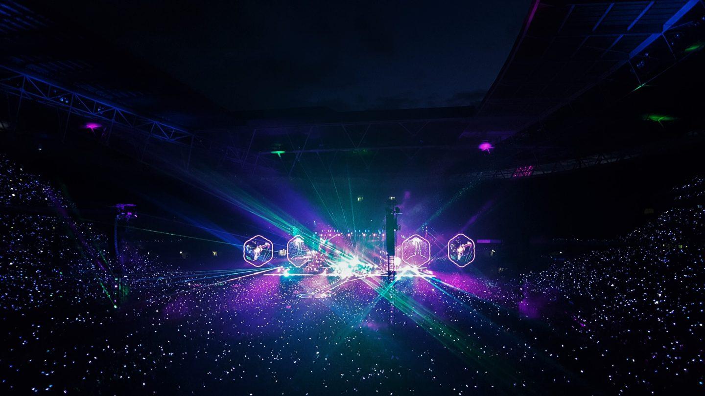 Coldplay, Wembley Stadium