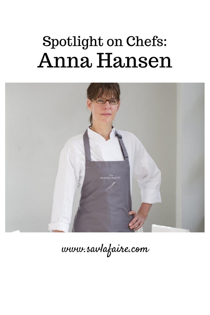 Anna Hansen Interview