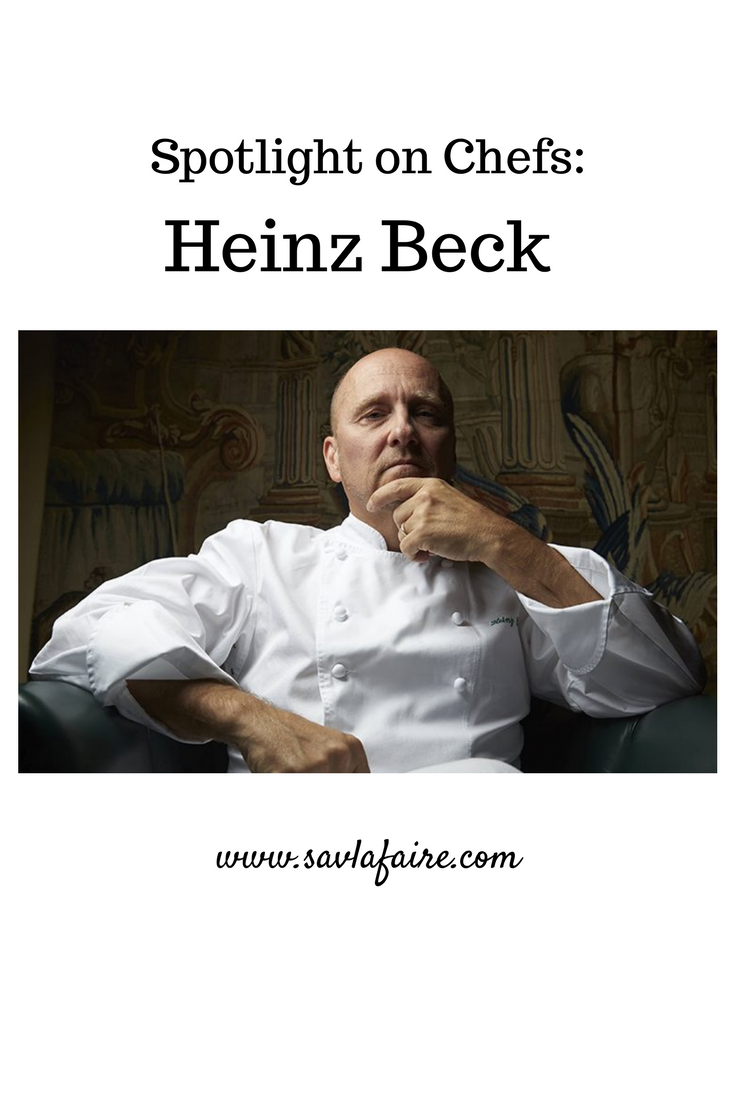 Heinz Beck Interview