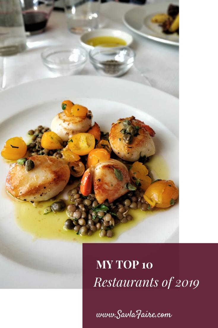 Top 10 Meals of 2019