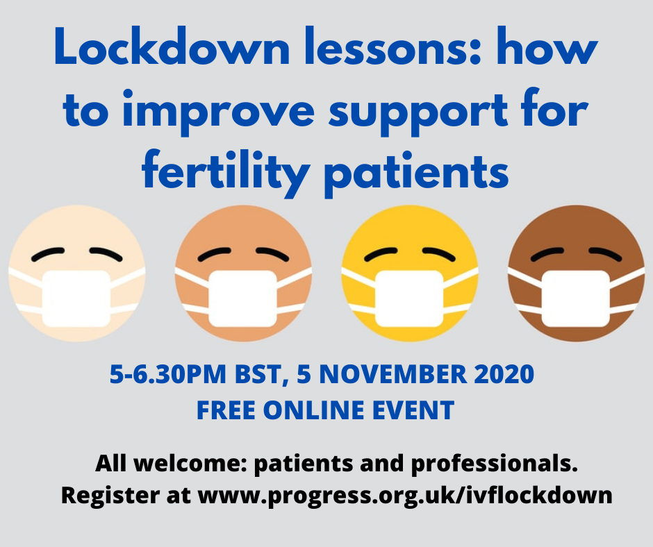 IVF Lessons from Lockdown